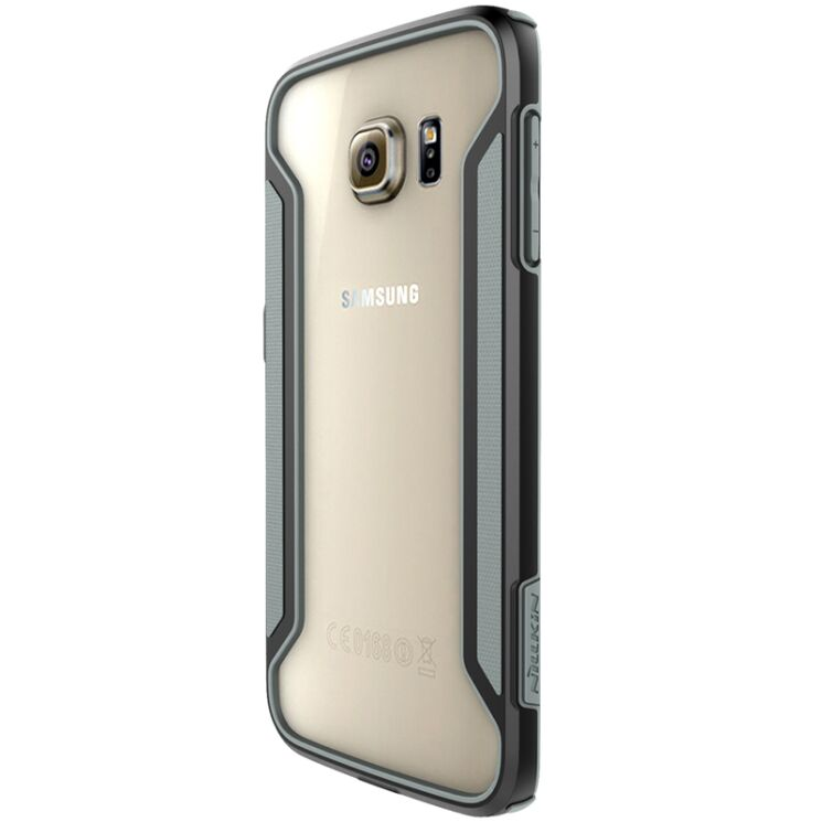Купить Защитный бампер NILLKIN Slim Border Series для Samsung Galaxy S6 edge (G925) на wookie.com.ua