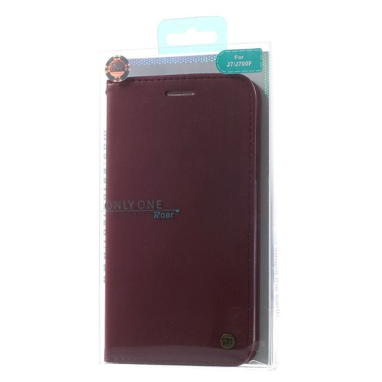 Купить Чехол ROAR KOREA Classic Leather для Samsung Galaxy J7 (J700) на wookie.com.ua