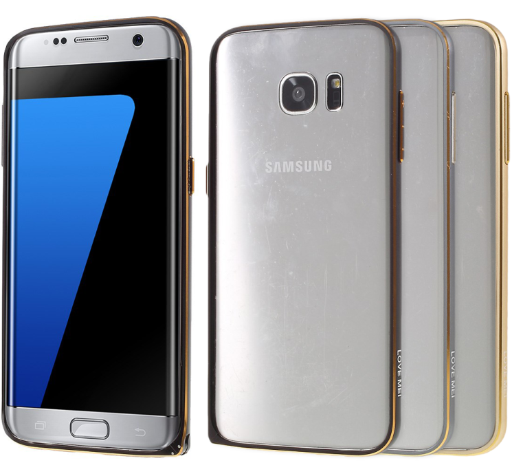 Купить Бампер LOVE MEI Buckle Metal для Samsung Galaxy S7 edge (G935) на wookie.com.ua