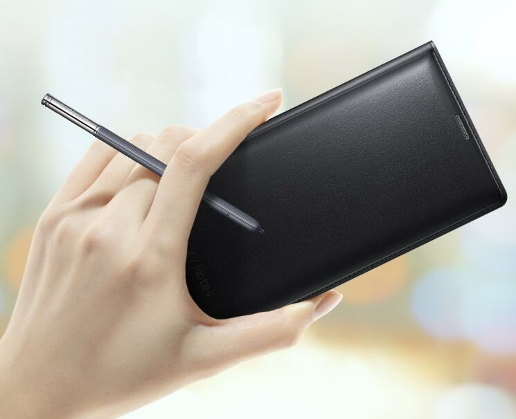 Купить Чехол Flip Wallet Classic Edition для Samsung Galaxy Note 4 (N910) EF-WN910FKEGWW на wookie.com.ua