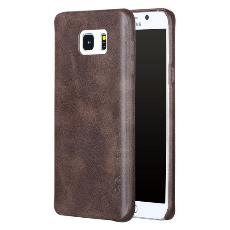 Защитный чехол X-LEVEL Vintage для Samsung Galaxy Note 5 (N920) - Brown