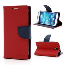 Чехол MERCURY Fancy Diary для Samsung Galaxy S4 (i9500) - Red
