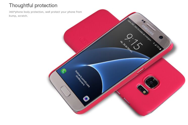 Купить Накладка NILLKIN Frosted Shield для Samsung Galaxy S7 (G930) + пленка на wookie.com.ua
