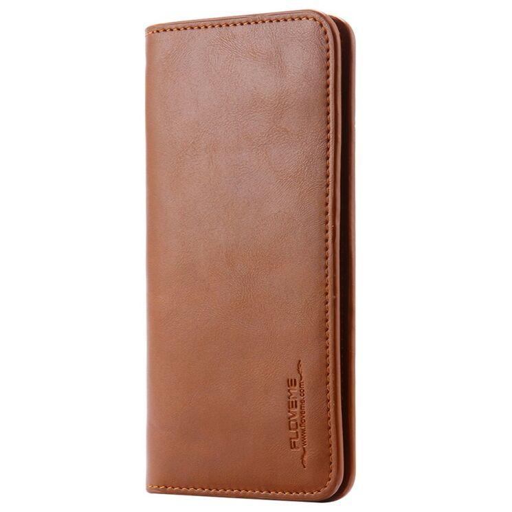 Купить Универсальный чехол-портмоне FLOVEME Retro Wallet для смартфонов на wookie.com.ua